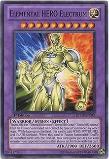 Yu-Gi-Oh! - Elemental HERO Electrum (RYMP-EN017) - Ra Yellow Mega-Pack - Unlimited Edition - Common
