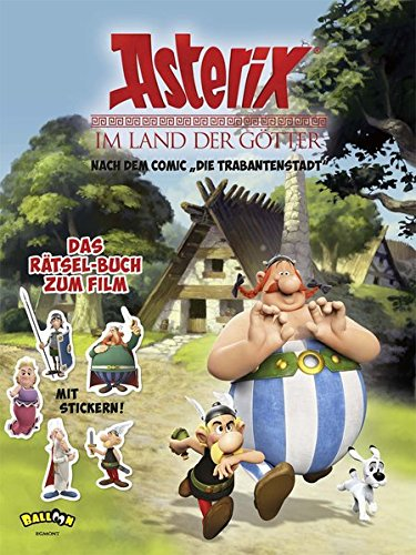 Asterix - Im Land der Götter: Das Rätsel-Buch zum Film