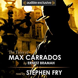 The Tales of Max Carrados cover art