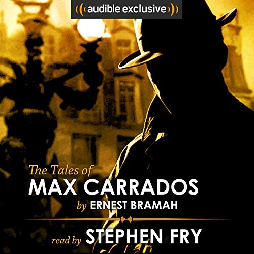 Couverture de The Tales of Max Carrados