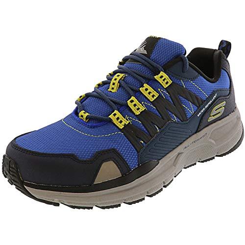 Skechers Mens Sport Escape PLAN 2.0 ASHWICK Trekking Outdoor 51926 Blau, Schuhgröße:44 EU
