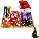 SFU E Com Christmas Chocolate Gift Basket Hamper | Christmas Chocolate Gift Combo | Christmas...