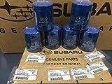 2011-2018 OEM Subaru Engine Oil Filter & Gasket 15208AA15A Geniuine Impreza Legacy Forester 6 PACK