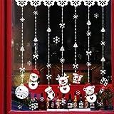 Decoraciones Adhesivos de pared de Navidad Decoraciones de Navidad Adhesivos de Navidad para el hogar Adhesivos de pared de vidrio de Navidad designados o enviados al azar