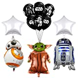17 pcs Party Balloon For Star wars,Video Games the Child Birthday Party Supplies Star wars Bouquet Decorations