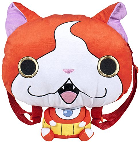 Famosa SOFTIES - Yo-Kai Watch Peluche mochila de Jibanyan (760014994)