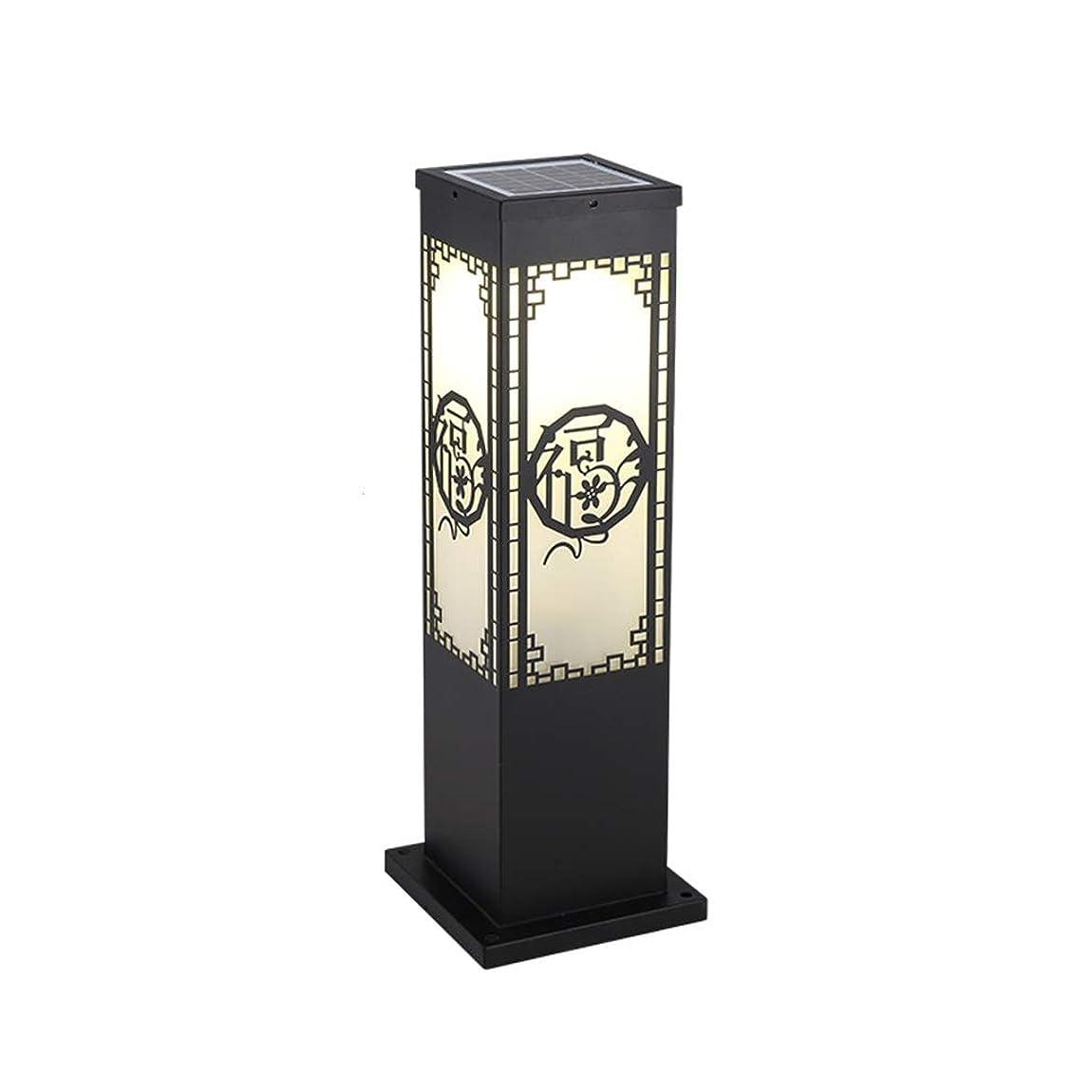 こだわり設置にIUYWLガーデンライト ダイカストアルミランドスケープガーデンフロアランプ装飾ポーチ中庭中庭装飾コラムランプ安全屋外街灯(サイズ:20×60 Cm) IUYWLガーデンライト