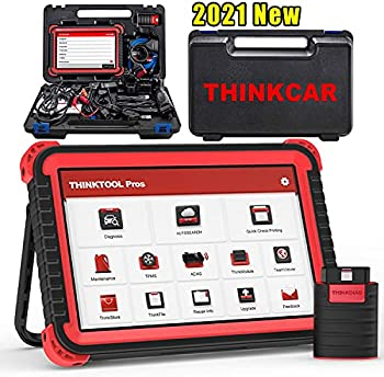 Thinkcar Thinktool Pros Bi-Directional Scanner Full Systems Diagnostic Scan Tool ,31+ Reset Functions Key Matching ECU Coding AutoAuth for FCA SGW,ADAS Calibration  Need Tools ,2 Years Update