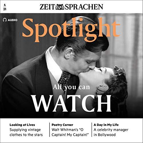 Spotlight Audio - All you can watch. 4/2021 Titelbild