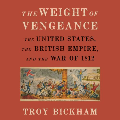 The Weight of Vengeance audiobook cover art