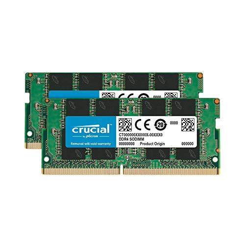 Crucial [Micron製] DDR4 ノート用メモリー 16GB x2( 2400MT/s / PC4-19200 / 260pin / SODIMM)永久保証 CT...