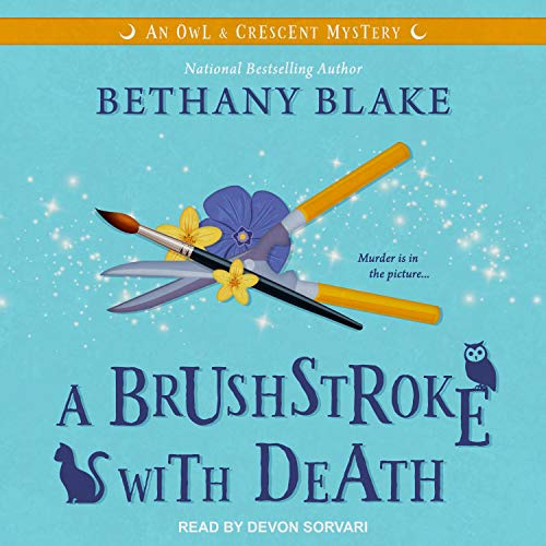 A Brushstroke with Death Audiobook By Bethany Blake cover art
