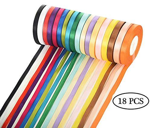 Joli Satin Ruban-Geschenkband-schmuckband Largeur 10-20-30-40mm LONGUEUR 5 m