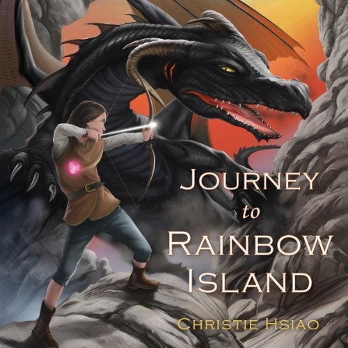 Journey to Rainbow Island audiobook cover art