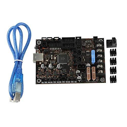 Carte de commande d'imprimante 3D Contrôleur de l'imprimante 3D mère 3D Imprimante Einsy Rambo1.1b TMC2130 SPI Mainboard Drive Mode for Reprap Prusa i3 MK3 / 3S Partie pour accessoires d'imprimante 3D