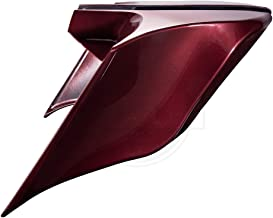 Advanblack Mysterious Red Sunglo Stretched Side Covers Fit for Harley Touring Street Glide Road Glide Special Road King Electra Glide Ultra Classic 2014-2019
