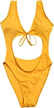 UOKNICE Swimwear for Womens, Sexy Swimming Padded Push up Tummy Control Bathing Suits One Piece Swimsuits Bikini