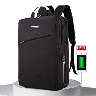 Laptop Backpack 15.6 Laptop Bag Contains Multi-Function Pockets Durable Travel Backpack with USB Charging Port and Tablet Lightweight Clean Design Sleek,Travel Business Casual College for Men Women