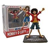 SPFOZ Decoración hogareña Figuarts Zero Bandai Japón Anime One Piece Monkey D Luffy Figura de acción...