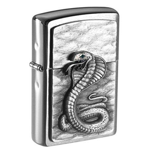Zippo originale Green Eyed Cobra - Cobra - serpente