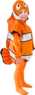 Toddler Clown Fish Costume, Size Toddler 4T