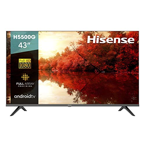 Hisense 43' Serie H5500G Android FHD Smart TV(43H5500G)