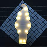NA Luz de Noche Hierro Forjado Hielo Crema de Noche de luz LED del Sitio de niños Los niños Tienda de Ropa de diseño Creativo