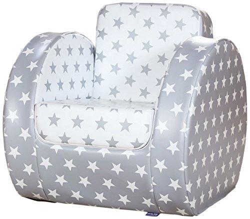 Kit for Kids Chaise pour Tout-Petit Grey Star Imprimé