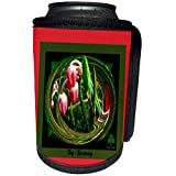 3dRose SmudgeArt Miniature Collection - Bog Rosemary - Can Cooler Bottle Wrap (cc_7056_1)