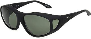 نظارات شمسية فوستر غرانت راين بتصميم بيضاوي مستقطبة لون أسود مطاطي، 64.5 ملم