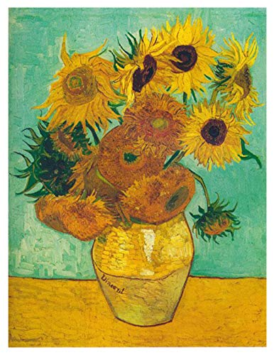 Bgraamiens Sunflowers/Zonnebloemen by Vincent Van Gogh Paper Puzzle 1000 Pieces