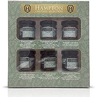 Hampton conserva el juego de regalo Chutneys & Pickles Mini Los frascos de 35 g, incluye Potting Shed Pickle, Chutney Gardener