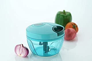 Manual Food Chopper Powerful Easy Pull Upgraded Hand Held Vegetable Onion Chopper