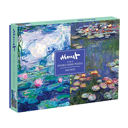Monet 500 Piece Double Sided Puzzle