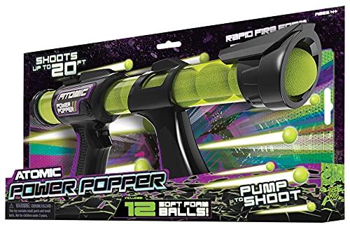Cheatwell Games 54003 Atomic Popper 12 Shot Blaster, Various