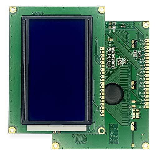 LCD-Display mit Hintergrundbeleuchtung 128 x 64 Pixel Modul für Arduino