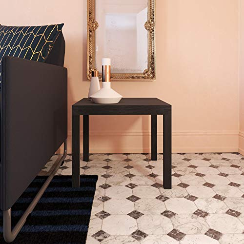 Ameriwood Home Parsons Modern End Table (Black) $15 + FS w/ Prime or Walmart+