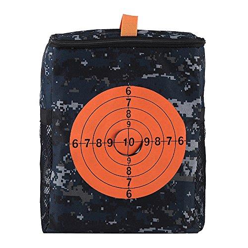 Fdit Portable Target Pouch Lagerung Target Schießen Lagerung Munition Kugeln Tasche Carry Ausrüstung Tasche für Nerf Guns Darts N-Streik Elite