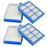 Lote de 4 filtros HEPA de repuesto para aspiradora Electrolux Philips