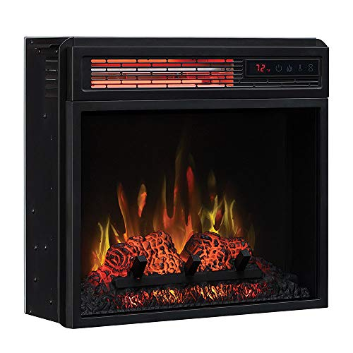 Classic Flame 18-in SpectraFire Infrared Electric Fireplace Insert - 18II332FGL