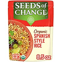 12-Pack Seeds of Change Organic Spanish Style Rice, 8.5 Ounce
