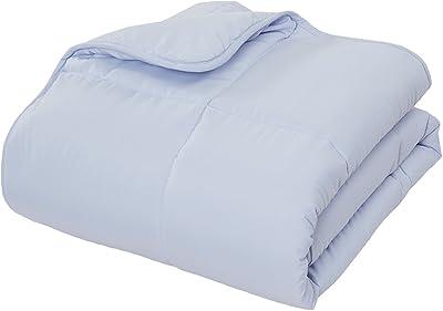 Down Alternative Comforter (Mist, Queen) - All Season Comforter - by Natural Comfort