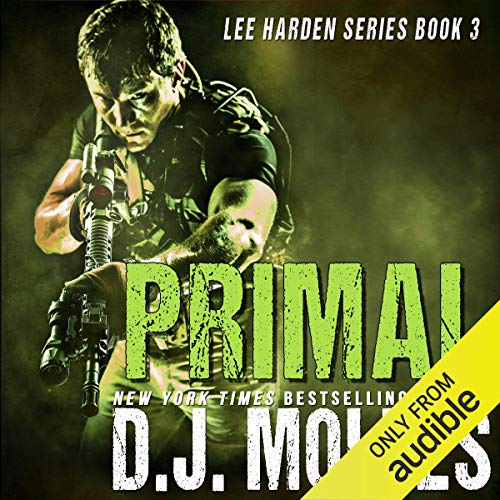 Primal audiobook cover art