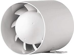 Cocina premium pared del ba/ño de alto flujo campana extractora 100 mm con sensor de humedad