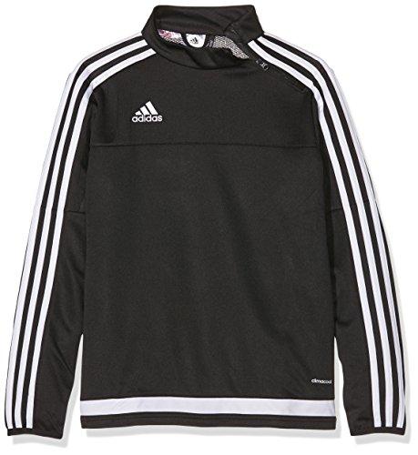 adidas Kinder Sweatshirt Tiro15 training t y, Black/White, 152