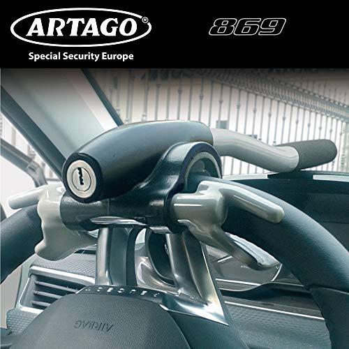 ARTAGO 869ART Barra Antirrobo Coche Volante Salpicadero, Reforzado, Universal