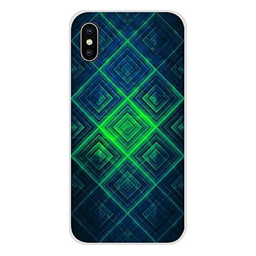 XMCJ Hermosas fundas de purpurina verde esmeralda para Samsung Galaxy S2, S3, S4, S5 Mini, S6, S7 Edge, S8, S9, S10E Lite Plus (color: imágenes 7, material: para Galaxy S10 Plus)