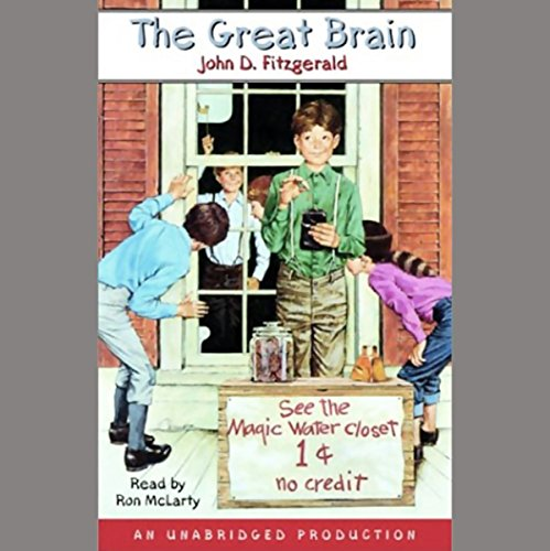 The Great Brain audiobook cover art