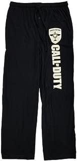 Call of Duty WWII Mens Black Wings Of Victory Sleep Lounge Pants Pajama Bottoms