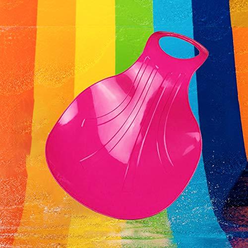 PRUNUS Wasserski für Kinder und Erwachsene, Auch perfekt geeignet für Gras und Sand - Zum Rutschen (Rosa)